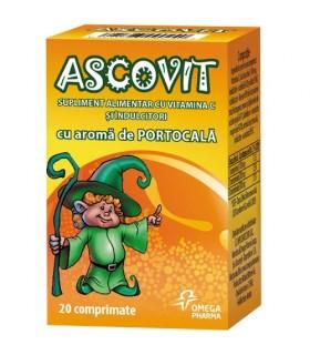 Ascovit Portocala 20 cpr.