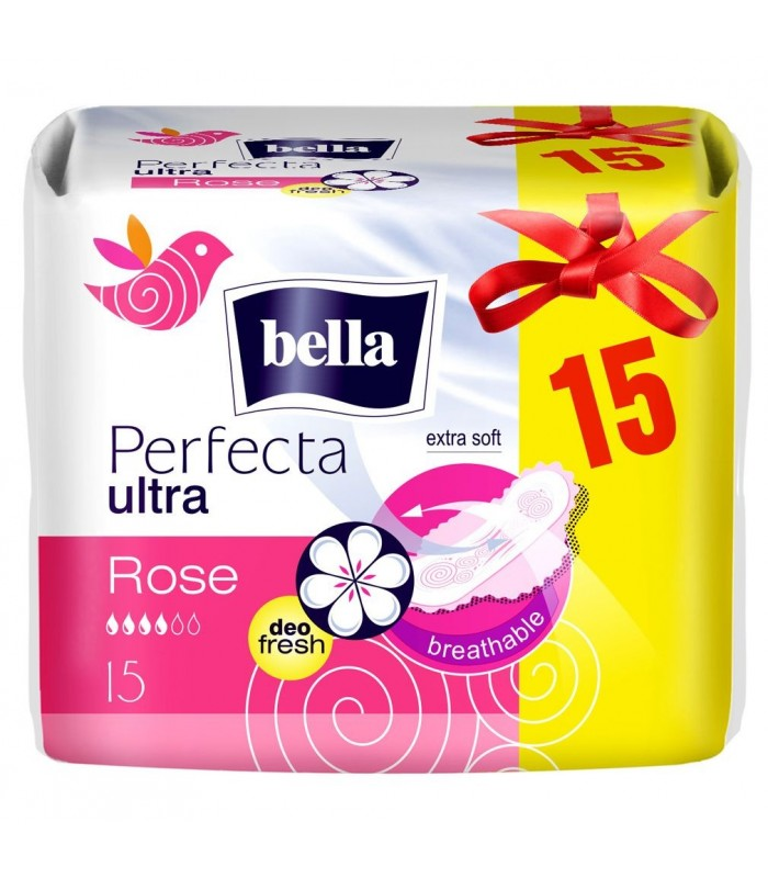 Bella Absorbante Perfecta Ultra Rose