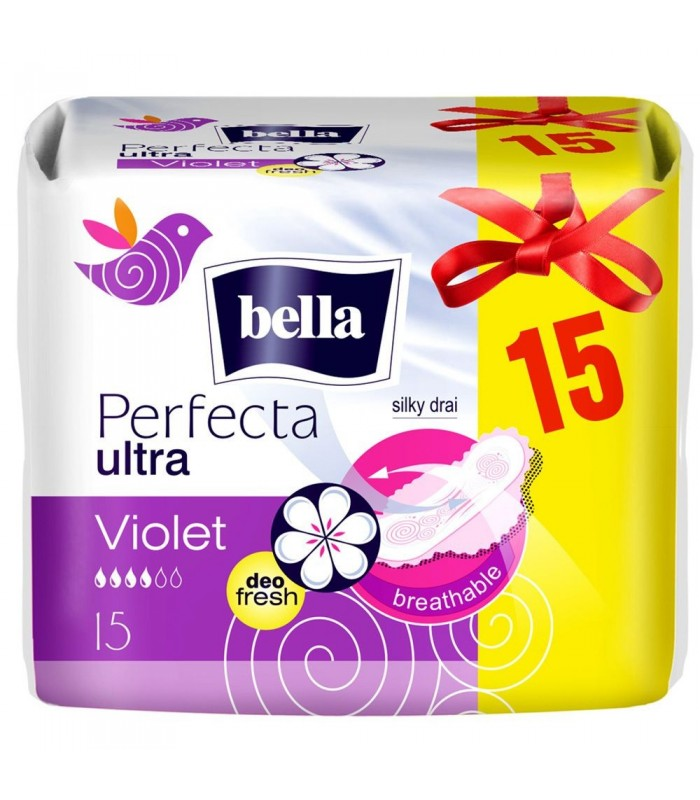 Bella Absorbante Perfecta Ultra Violet