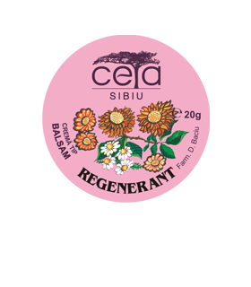 Crema Tip Unguent Regenerant cu Extracte Naturale 20g/40g