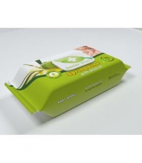 Servetele Umede Pentru Copii Spring Line cu Ulei de Masline