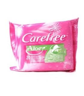 Carefree Servetele Igiena Intima Aloe