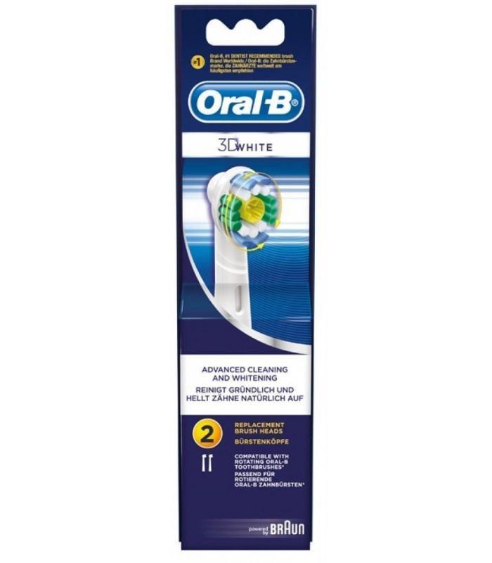 Capete rezerva Oral B 3D White