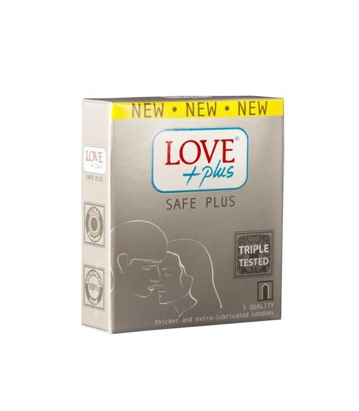 Prezervative Love Plus Safe Plus