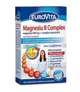 Eurovita Magneziu B Complex pachet promo 1+1