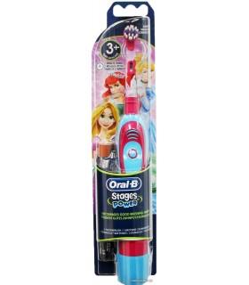 Periuta electrica Oral B Stages Power Kids D2010 pentru Fetite