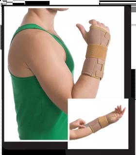 Orteză pentru încheietura mainii (cu atelă de metal), Cod 8551