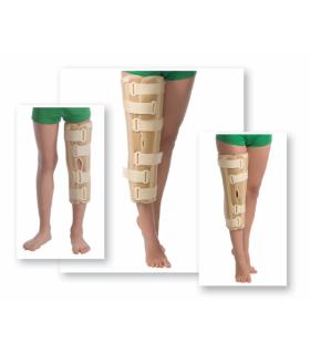 Orteză de genunchi cu fixare suplimentară (atele rigide), Cod 6112