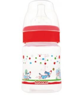 Bebeneo Biberon 150 ml cu Gat Larg si Tetina Silicon
