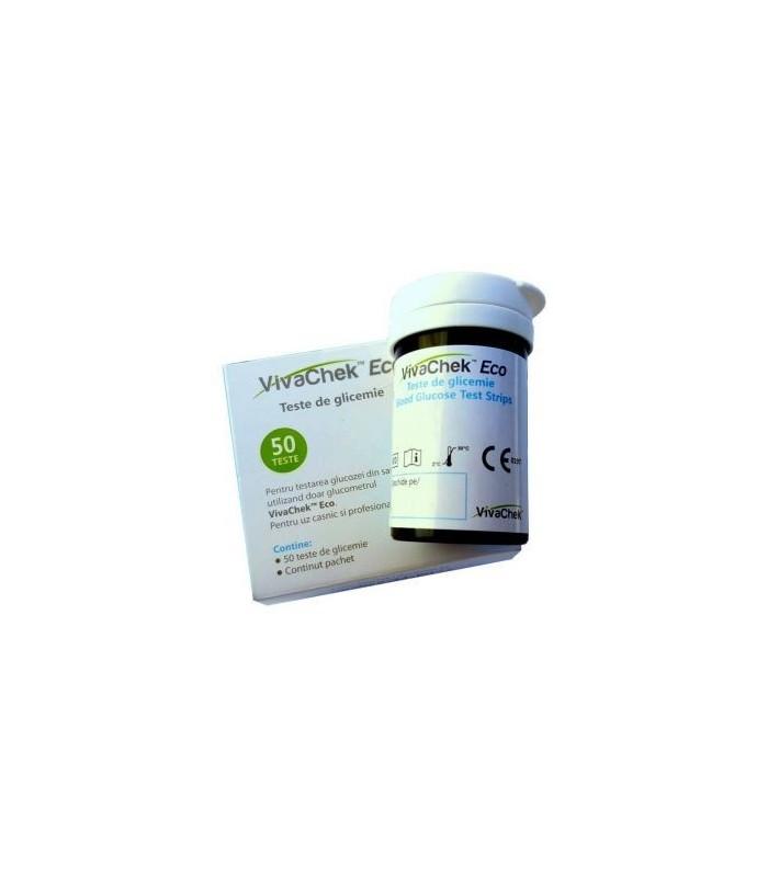 Teste pentru Masurarea Glicemiei VivaCheck Eco