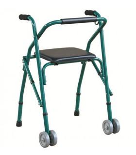 Cadru de mers cu scaun si rotile Dr. Happy JL 914L