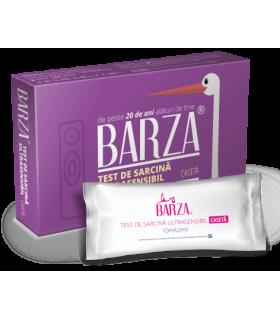 Test sarcina Barza Caseta Ultrasensibil + Cadou - Pachet Servetele Intime Barza