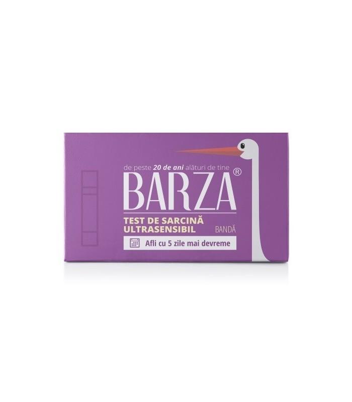 Test sarcina Barza Banda Ultrasensibil