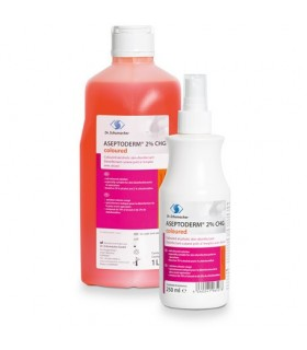 Aseptoderm 2% CHG (color)