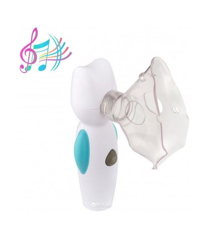Aparat aerosoli portabil Feellife Air Angel, silentios, tehnologie mesh, muzica