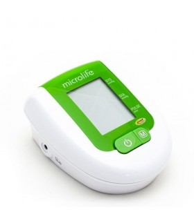 Tensiometru digital de braţ BP 3AG1 Green cu Termometru si Adaptor Priza Gratis