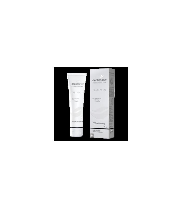 Pastă de dinți Dentissimo PRO-Whitening