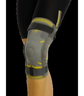 Orteza de genunchi textila cu atele metalice cu balamale MorsaCyberg