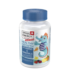 Swiss Energy Jeleuri Healthy Growth cu Vitamine si Minerale fara Zahar