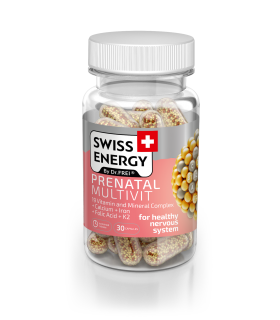 Vitamine Swiss Energy, Prenatal Multivit, Nano Capsule, 30 buc.