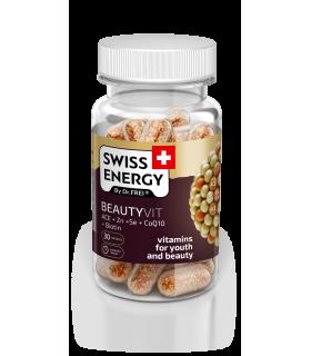 Vitamine Swiss Energy, Beutyvit, Nano Capsule, 30 buc.