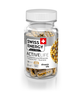 Vitamine Swiss Energy, Activelife, Nano Capsule, 30 buc.