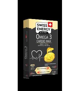 SWISS ENERGY , OMEGA 3 CARDIO MAX