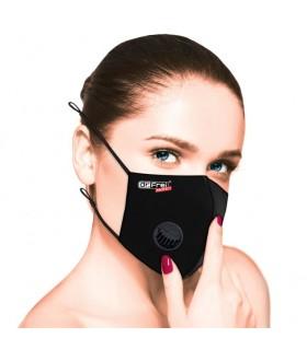 Masca de Protectie cu Valvă, FFP2, Neagra, Dr Frei Protect