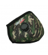 Masca de Protectie cu Valvă, FFP2, Camuflaj,  Dr Frei Protect