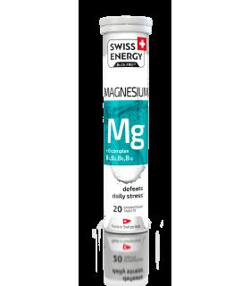 Swiss Energy, Tablete Efervescente cu Magneziu + B Complex