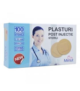 Plasturi Rotunzi Pentru Injectie Minut