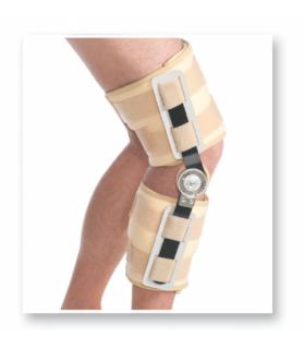Orteza de genunchi pentru perioada post-operatorie mobila (cu balama), Cod 6308