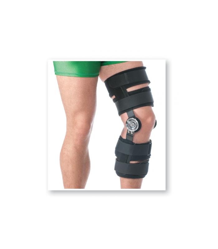 Orteza de genunchi pentru perioada post-operatorie mobila (cu balama)