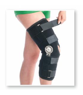 Orteza de genunchi pentru perioada post-operatorie mobila (cu balama), Cod 6311