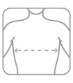 Orteză toracică elastică (cu 2 atele rigide)