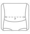 Lombostat (cu efect de încălzire şi 3 atele rigide)
