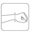 Bandaj pe articulația pumnului elastic