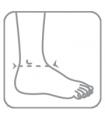 Bandaj elastic pentru gleznă 7021