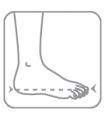 Orteza fixa de glezna si picior