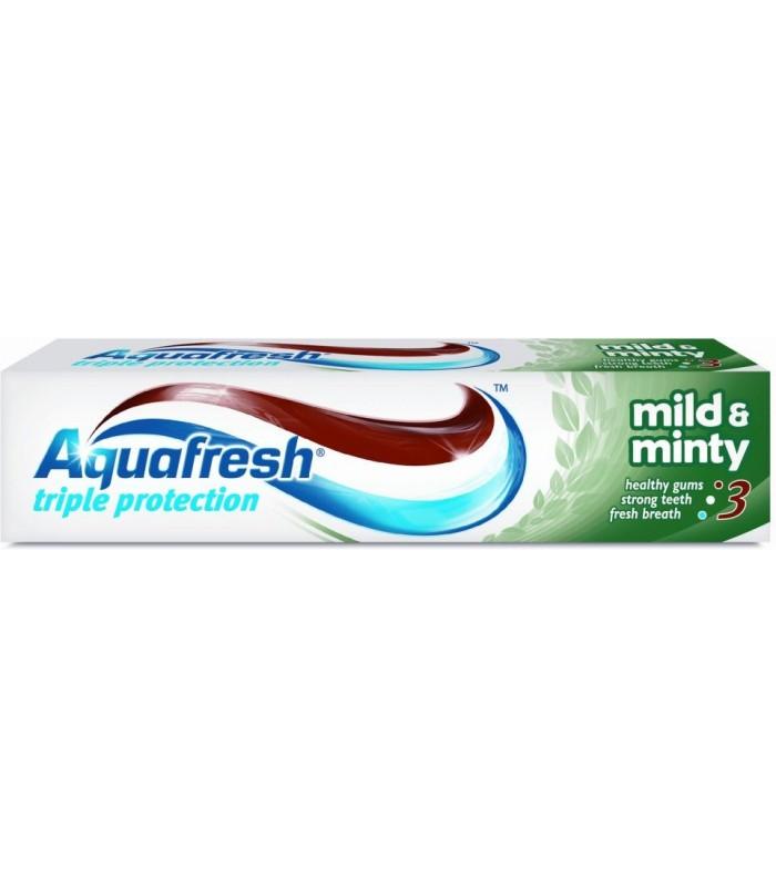 Aquafresh pasta dinti Mild & Minty 50 ml (4+1 gratis)