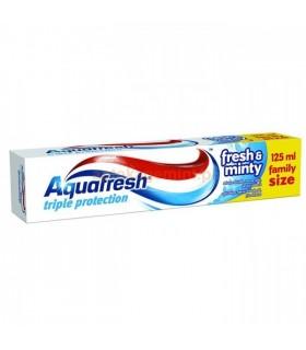 Aquafresh pasta dinti Fresh & Minty 125 ml (4+1 gratis)
