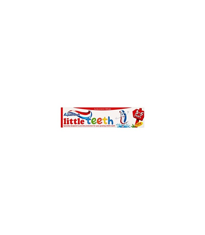 Aquafresh pasta copiii Little Teeth 50 ml (3-5 ani)
