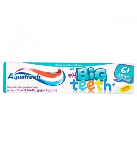 Aquafresh pasta copiii my Big Teeth 50 ml (6+ ani)