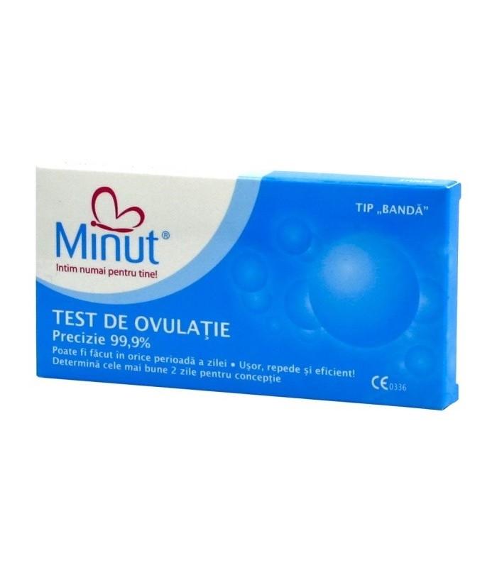 Test ovulatie Minut kit 3 buc
