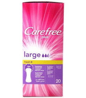 Carefree Absorbante Pantyliners Large Fresh x 20 buc