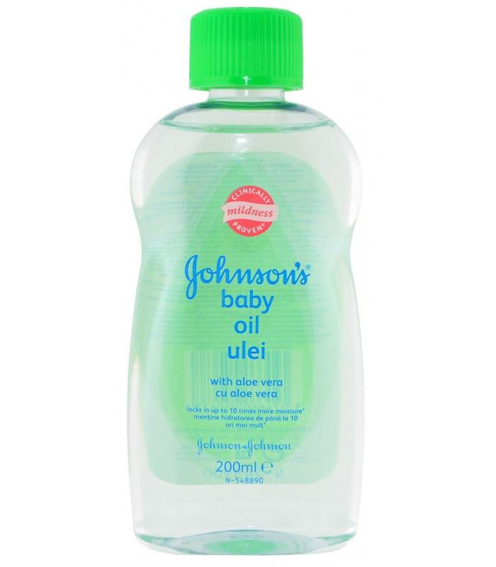 Johnson's Baby Ulei pentru Corp Aloe Vera 200 ml