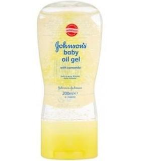 Johnson's Baby Ulei Gel pentru Corp cu Musetel 200 ml