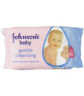 Johnson's Baby Servetele Umede Gentle Cleansing 56 buc