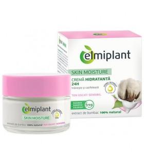 Elmiplant Crema de Fata Hidratanta 24H pentru Ten Uscat / Sensibil Skin Moisture
