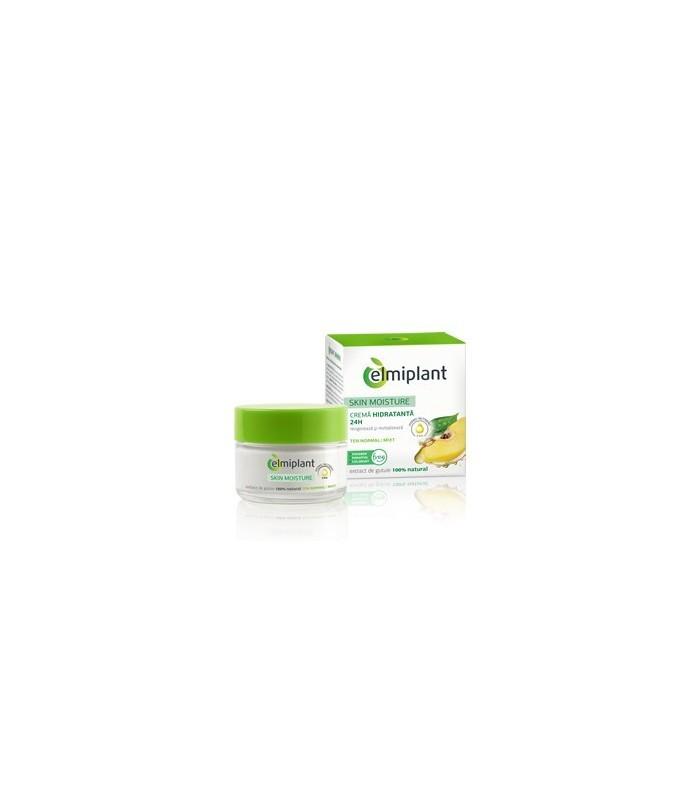 Elmiplant Crema de Fata Hidratanta 24H pentru Ten Normal / Mixt Skin Moisture